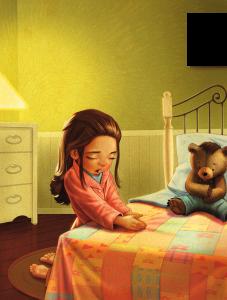 girl-kneeling-bed-praying-689904-print